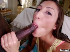 Angelica Saige in Her first big black dick