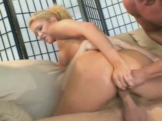 Act of double penetration in elastic holes of Trinity James