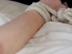 Hot candlewax fetish with teen Jenna Reid